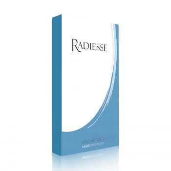 Radiesse 1.5 ml is an implant that is injected into the dermis and subcutaneous layer of the skin and it decomposes naturally.