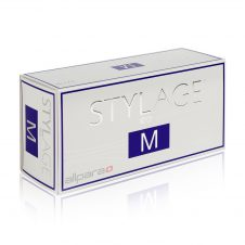 Stylage M is made up of two chief components: 20 mg / g of stabilized hyaluronic acid, and mannitol, an antioxidant.