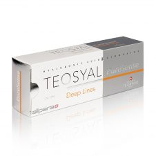 Teosyal PureSense Deep Lines contains 25mg/ml of hyaluronic acid