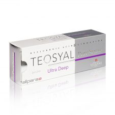 Teosyal PureSense Ultra Deep contains about 25 mg / g of hyaluronic acid