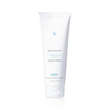 SkinCeuticals Hydrating B5 Masque 240 ml is high concentrated masque restores dehydrated skin through optimal concentration of 1% of hyaluronic acid and vitamin B5 for replenishment of the required level of moisture.