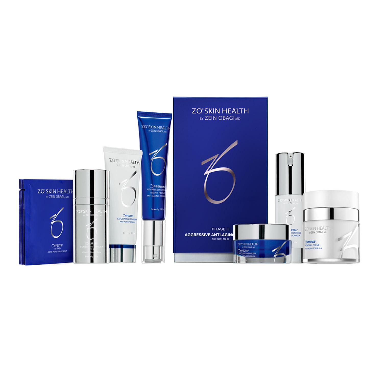Skin Health: ZO Skin Level III Aggressive Anti Aging Program ®. Buy Online
