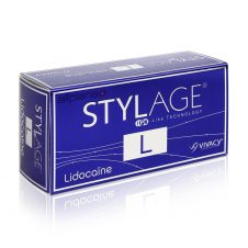 Stylage L Lidocaine is a cross-linked hyaluronic acid based gel.