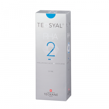 Teosyal RHA 2 is a dermal filler, which is based on hyaluronic acid.