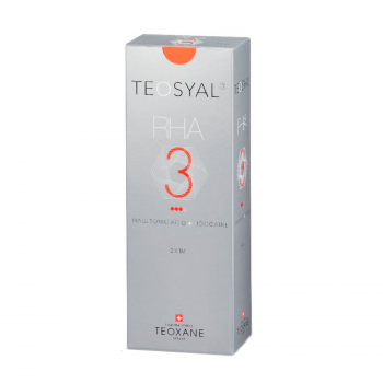 Teosyal RHA 3 is a dermal filler, which is based on hyaluronic acid.