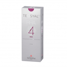 Teosyal ® RHA ™ 4 is a dermal filler, which is based on hyaluronic acid.