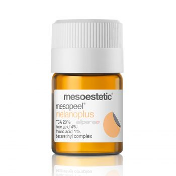 Mesopeel Melanoplus is a depigmenting, self-neutralizing peel indicated for post-inflammatory hyperpigmentation, melasma, freckles, and lentigos.