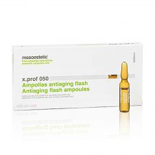 xprof 050 antiaging flash is indicated to use as a treatment for the concern of sagging skin, and can be also used as a makeup base.