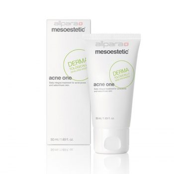 Mesoestetic Acne One is a multi-action cream, especially designed for day-to-day control of the seborrheic and acne prone skin.