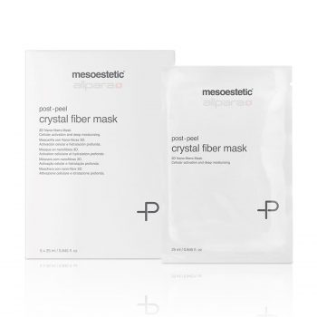 Mesoestetic Post Peel Crystal Fiber Mask is an intense revitalizing and moisturizing face mask especially designed to enhance cell renewal.