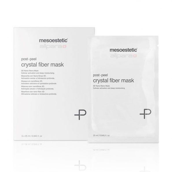 Mesoestetic ® Post Peel Crystal Fiber Mask