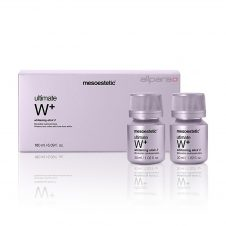 Mesoestetic Ultimate Wplus Whitening Elixir is a drinkable solution.